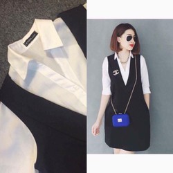 Set vest thanh lịch