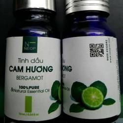 Tinh Dầu Cam Hương NEOP - Bergamot Essential Oil 10ml