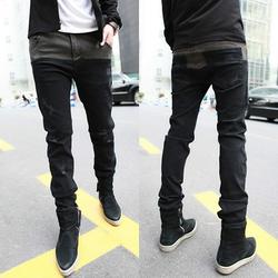 Quần Jeans nam xước nhẹ nam tính