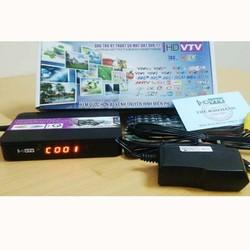 Đầu Truyền Hình Mặt Đất DVB T2 HD 789S + ANTEN hiện đại đặt trong nhà