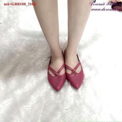 Giày búp bê nữ cách điệu lẫm dễ thương GBB108