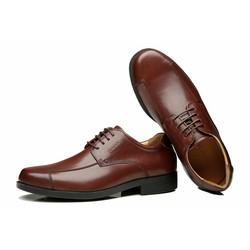 Giày da nam công sở thương hiệu ecco 2016 màu nâu