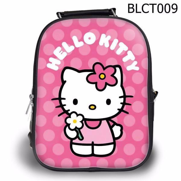 Balo Ipad - Học thêm - Đi chơi Kitty cầm hoa - VBLCT009 1