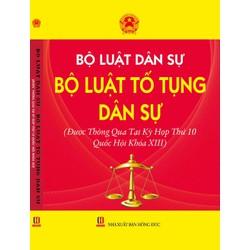 Bộ luật dân sự - Luật tố tụng dân sự