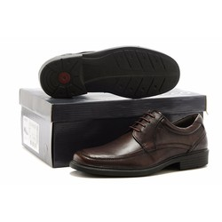 Giày da thởi trang công sở nam sang trọng 2016 màu nâu