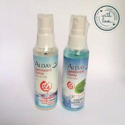 Xịt khử mùi cho vùng kín Alday- Made in Thailand