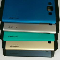 Samsung Galaxy A8 2015 - Ốp lưng slim armor 2 lớp PC và Silicone