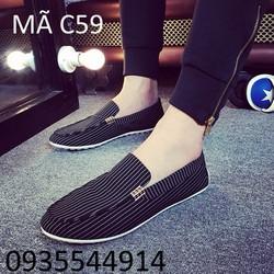 Giày nam phong cách Hàn Quốc C59
