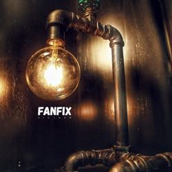 Đèn trang trí ống nước sắt nghệ thuật Fanfix