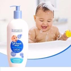 Sữa tắm gội cho bé Evoluderm 500ml