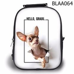 Balo Ipad - Học thêm - Đi chơi Chihuahua Hello - SBLAA064