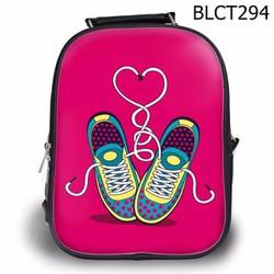 Balo Ipad - Học thêm - Đi chơi Đôi giày buộc dây trái tim - SBLCT294