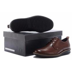 Giày công sở nam chất liệu da bóng New 2016