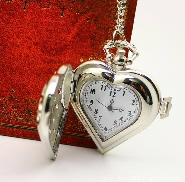 Đồng hồ bỏ túi Tim Bạc