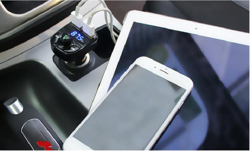 Tẩu MP3 và sạc trên ô tô Hyundai HY-82 11