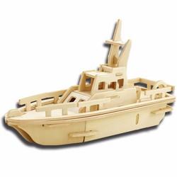 Đồ chơi gỗ xếp hình thuyền 3D Puzzle Wooden HPM5924