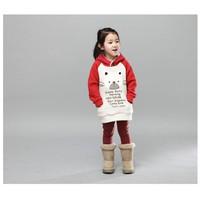 Áo hoddie ấm áp cho bé từ 2 - 7 tuổi