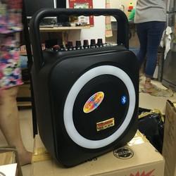 loa bluetooth karaoke A105 tặng micro cô g suất 120W