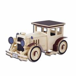 Đồ chơi gỗ xếp hình xe cổ 3D Puzzle Wooden HPM5351