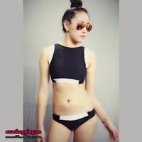 Bộ Bikini Thun Cao Cấp Hàn Quốc Hai Mảnh Evabkn92