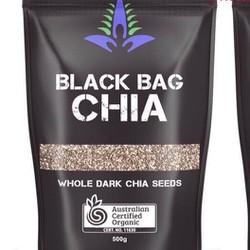 Hạt chia úc -black bag chia