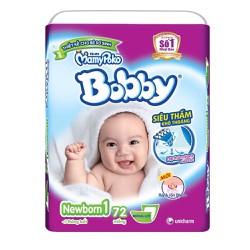 Tã - bỉm Bobby Newborn 1 72 miếng
