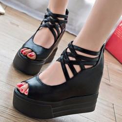 Giày Sandal đế bánh mì SD153D