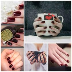 Sơn móng tay Nail Vita Skinfood RE106 đỏ đậm