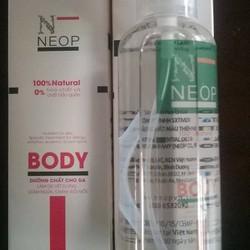 Dầu dừa siêu tinh khiết NEOP BODY chăm sóc cơ thể 100ml