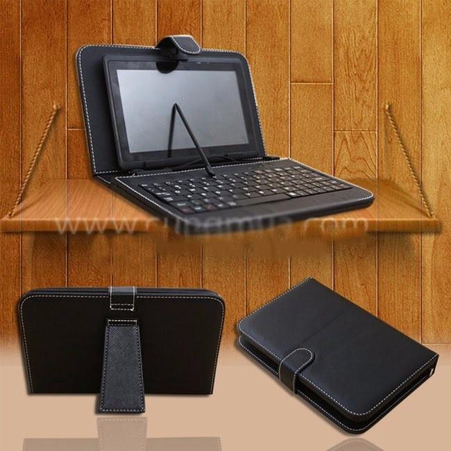 Bao da kèm bàn phím dành cho máy tính bảng 7 đến 8 inches 1