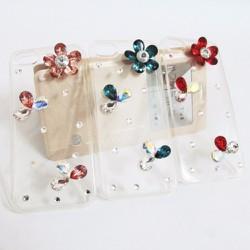 Ốp lưng silicon iPhone 5-5S-SE dẻo đính đá tuyệt đẹp