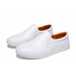 Giày da nam công sở phong cách thời trang New 2016 màu trắng