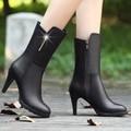 Giày boot cao cổ nữ B029