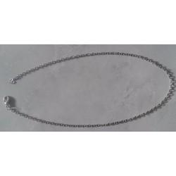 Dây chuyền thô bằng inox hoặc da làm handmade cho Nữ
