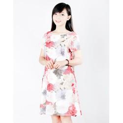 Đầm suông họa tiết hoa sang trọng