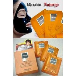 Mặt nạ bùn Shiseido naturgo  hộp 10 gói