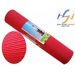Thảm tập Yoga hoa văn màu đỏ kèm túi đựng