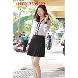 Chân váy xếp ly thời trang Hàn Quốc mới R161917