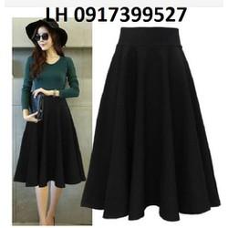 Chân váy xòe thời trang Hàn Quốc mới R161825