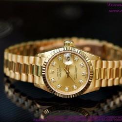Đồng hồ inox nữ số đính hạt cao cấp sang trọng DHI127