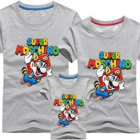 Áo gia đình Mario