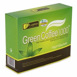 CAFE GIẢM BÉO GREEN COFFEE LEPTIN