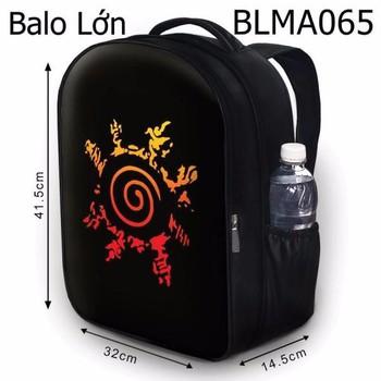 Balo Học sinh - Teen - Laptop Logo Naruto HOT - VBLMA065