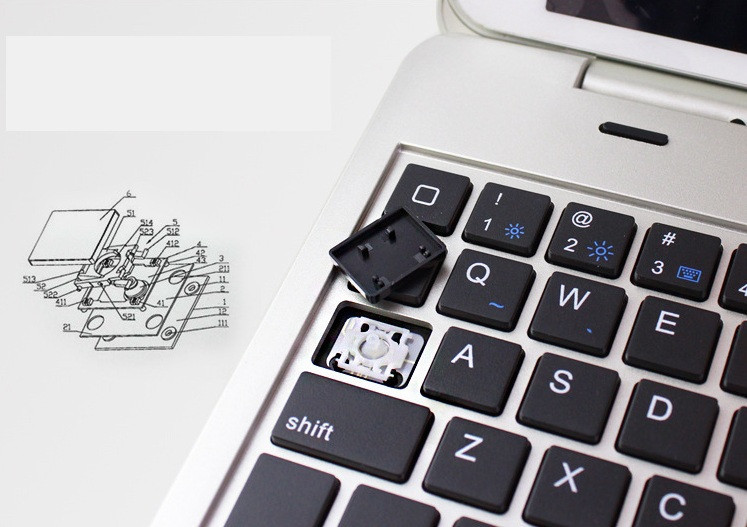 Bàn phím Bluetooth ốp lưng ipad mini 4 phụ kiện cho bạn 5