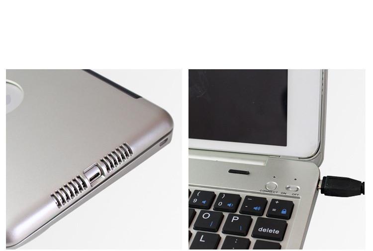 Bàn phím Bluetooth ốp lưng ipad mini 4 phụ kiện cho bạn 3