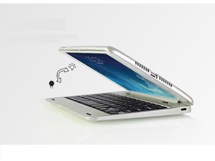 Bàn phím Bluetooth ốp lưng ipad mini 4 phụ kiện cho bạn 7