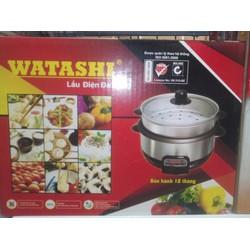 Nồi lẩu điện WATASHI 2.8L có sửng hấp