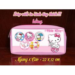 Bóp viết in hình hello kitty - BVH0002