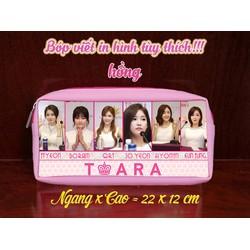 Bóp viết in hình T-Ara - BT01