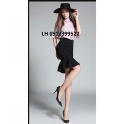 Chân váy đuôi cá thời trang Châu Âu mới R1601872